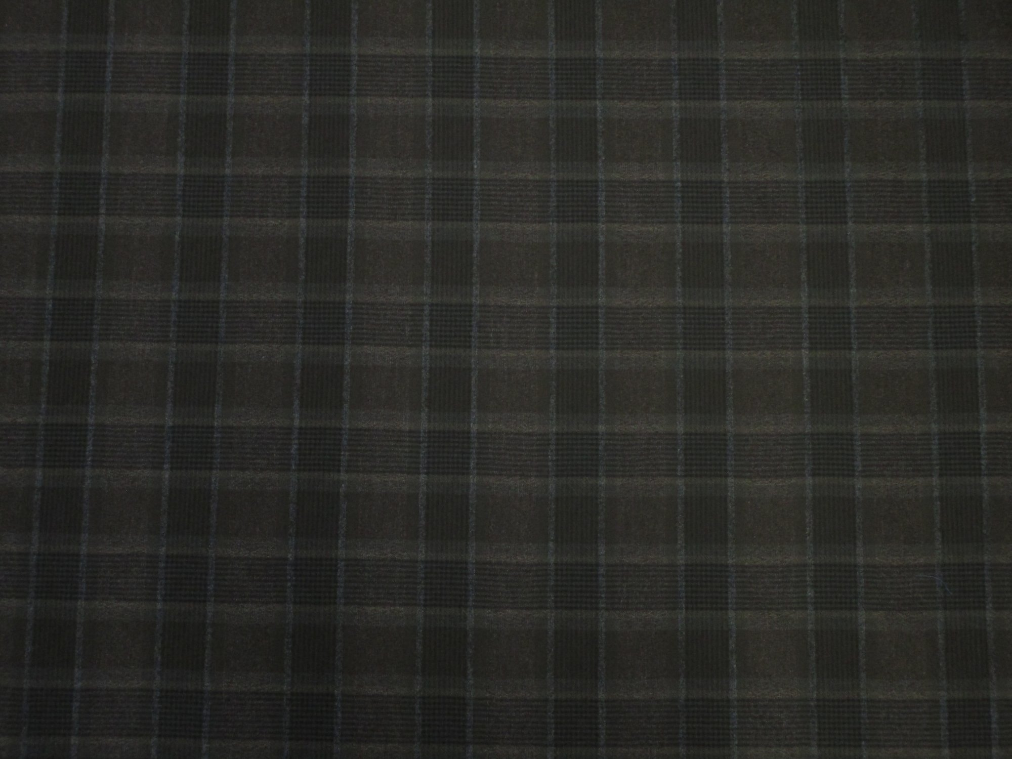 Plaid Italian Wool
