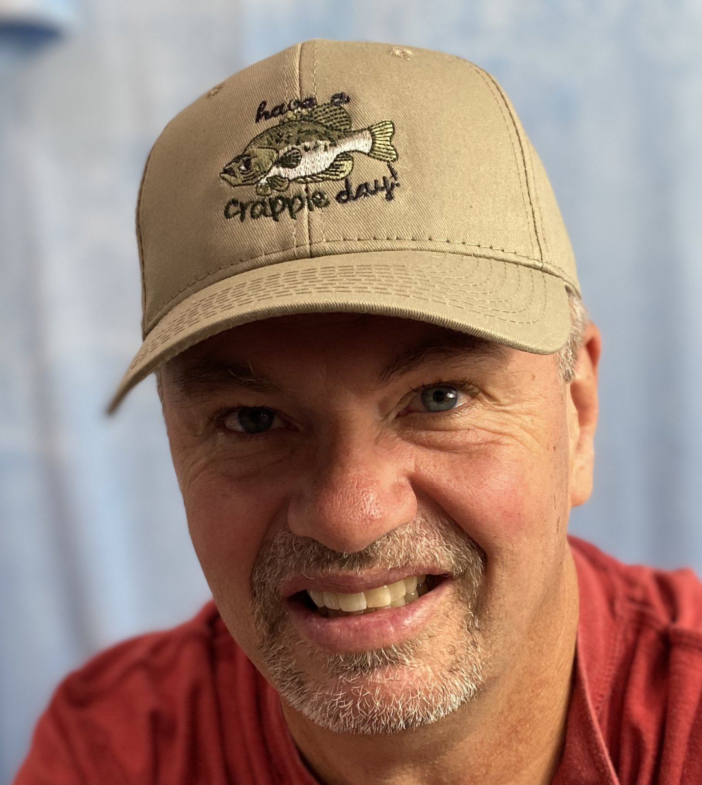 Have a Crappie Day - Custom Embroidered - Richardson Outdoor Cap - GL-271 Adjustable Twill