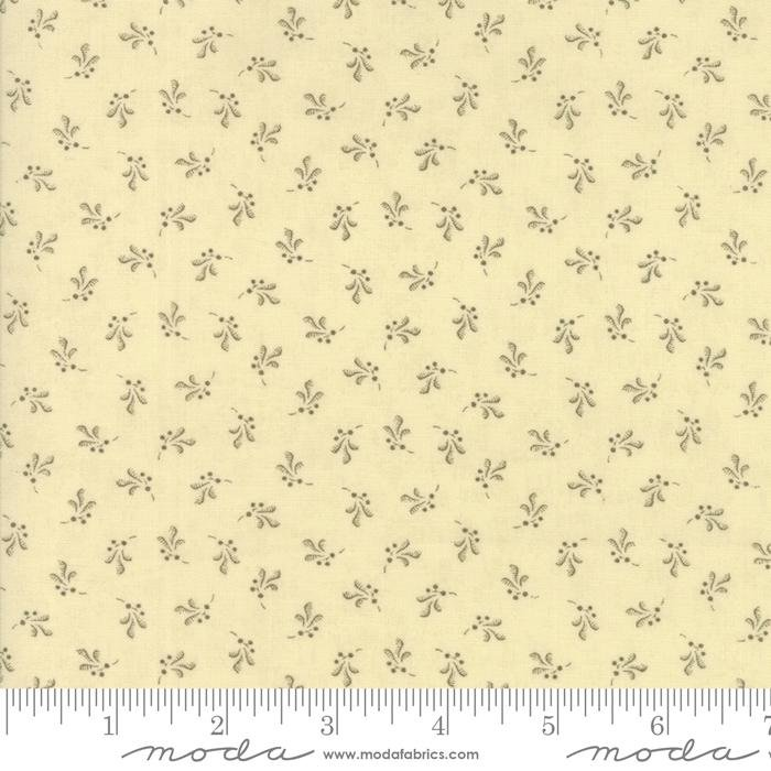 108in Wide Backing -  Collection Compassion Ivory - Moda - Howard Marcus - 752106359383 - 11128 11