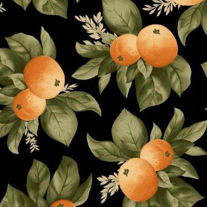 A Fruitful Life - Black Large Fruit Print - Maywood Studio - MAS9323J - 714329668543
