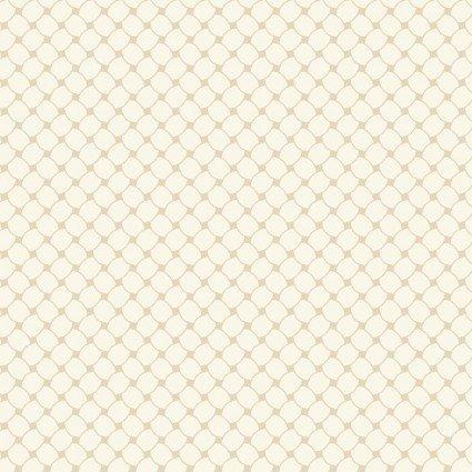 A Fruitful Life - Ecru Lattice Print - Maywood Studio - MAS9330-E - 714329349268