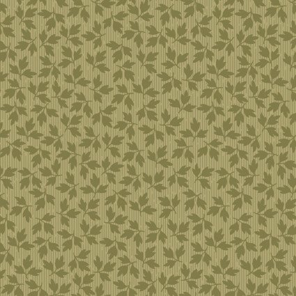 A Fruitful Life - Olive Green Leaf - Maywood Studio - MAS9329-G - 714329259949