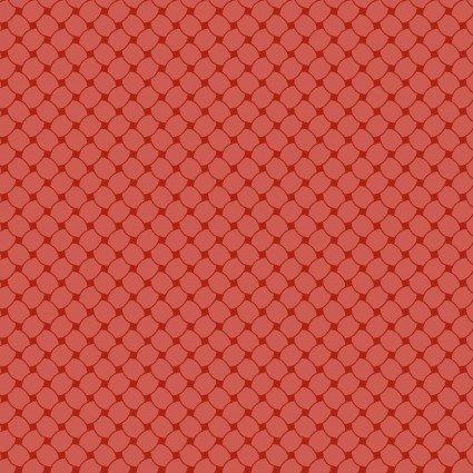 A Fruitful Life - Pomegranate Red Lattice Print - Maywood Studio - MAS9330-P - 714329285672