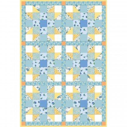 Berries & Blossoms - Sister's Choice - Precut Pod Quilt Kit - POD-MAS05-BAB - 714329889573