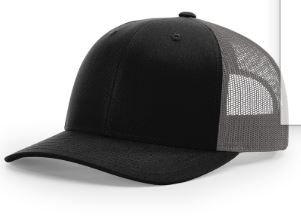 Richardson 115 - Low Pro Trucker Snap Back Mesh Adjustable Hat - Custom Embroidered - Cap