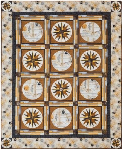 Calculations - Whistler Studios - Heidi Pridemore - Windham Fabrics - Size 70 x 87 - 100-8030