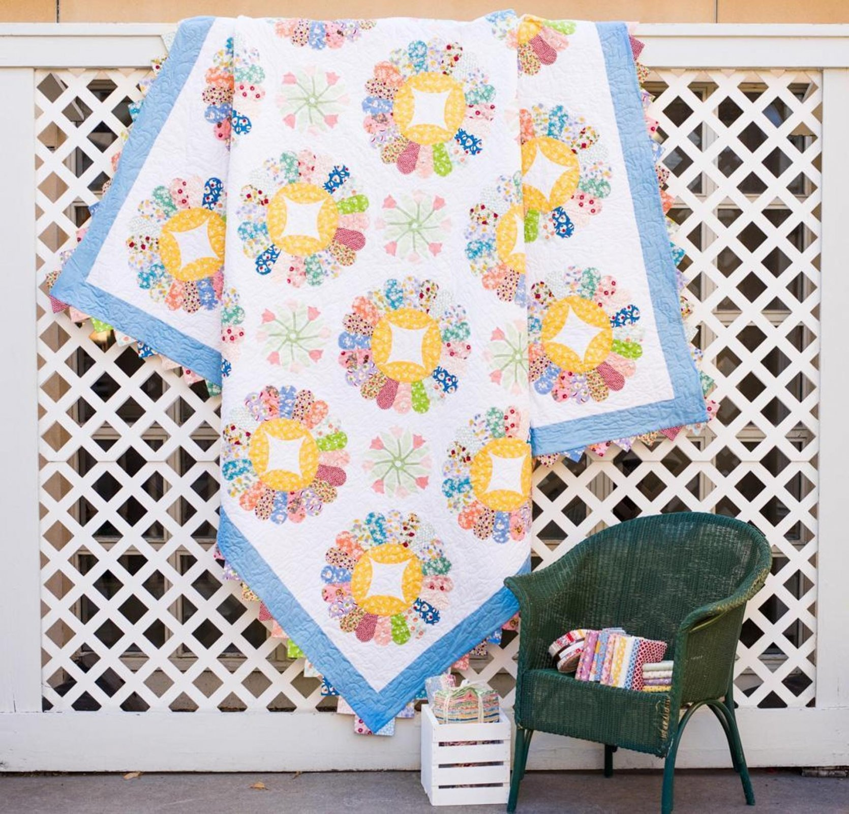 Candy Dish Quilt Kit Christine Stainbrook Rjr Everything But The