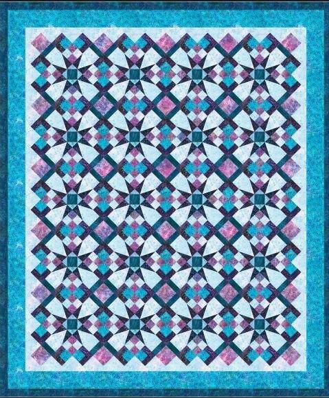 Celestial Magic Quilt Kit - Artisan BAtiks - Serendipity - KITP-974-11 - 784626758490 - includes pattern