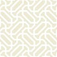 Classic Elements - P & B Textiles White with Cream Chain Print Tone on Tone 00512