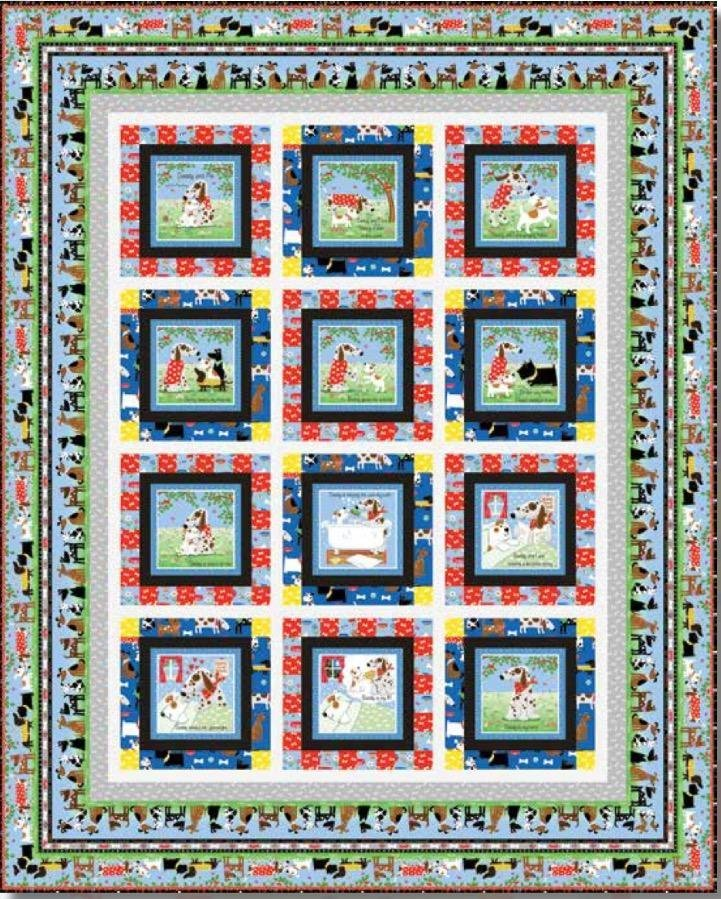 Daddy and Me Quilt Kit