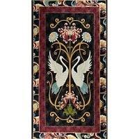 Dancing Crane Panel - Paintbrush Studio  - Ro Gregg - 24 x 44 - Pattern 120-5171