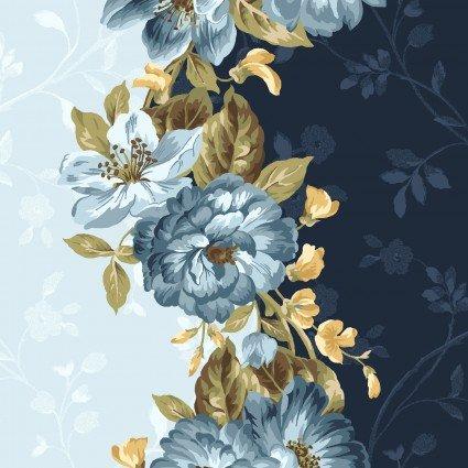 English Countryside - Border Print - Maywood Studio - MAS9163-B - 714329379869