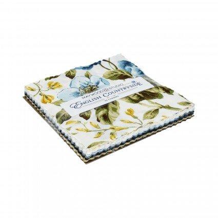 English Countryside - Charm Pack 42 ct. 5 Precut Squares - Maywood Studio - CP-MASENC - 714329284101