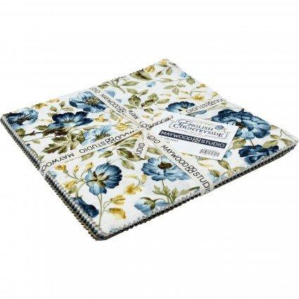 English Countryside - Layer Cake 42 ct. 10 inch Precut Squares - Maywood Studio - SQ-MASENC - 714329727905