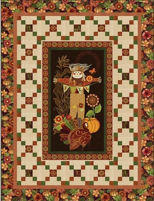 Fall Festival Scarecrow Quilt Kit -
