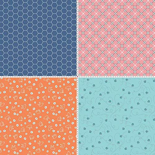 Farm Girl Vintage - Companion Fat Quarter Panel Two - FEP7888R-ONE -  889333111238