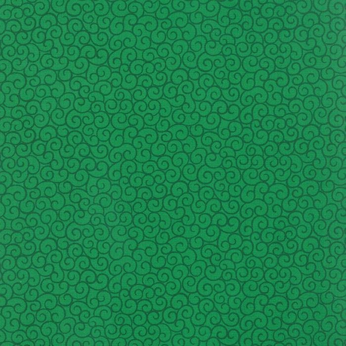 108in - Wide Backing - Ho Ho Ho Let it Snow - Green Fabric - Deb Strain - Moda - 11102