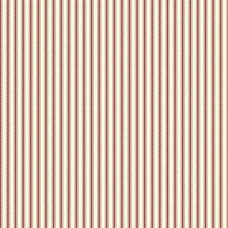 Homestead Life - Burgundy Ticking Stripe - 51524-4 - Judy Jarvi - Windham Fabrics
