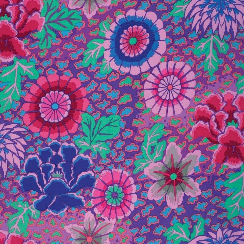 Kaffe Classics - Dream - Purple - Floral - Kaffe Fassett - PWGP148.Purpl - 884424181947