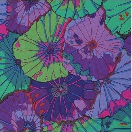 Kaffe Classics - Lotus Leaf - Purple - Kaffe Fassett - PWGP029.PURPL - 884424181800