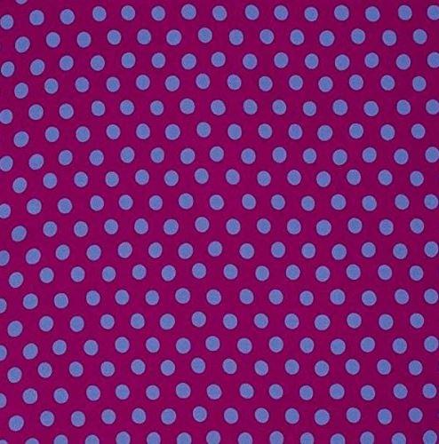 Kaffe Classics - Purple - Polk Dots - Spot - Plum  - Kaffe Fassett - PWGP070.PLUMX - 884424181848