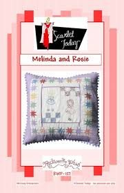 Scarlet Today Melinda and Rosie Pillow Pattern