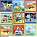 On Track - Jill McDonald - P&B Botique - Multi-Color Block Panel