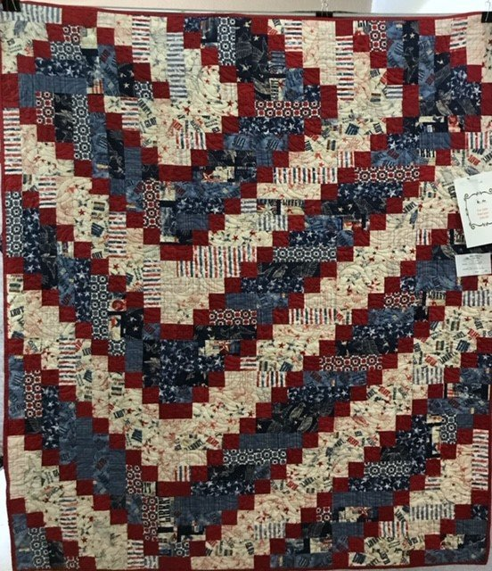 Patriotic - Pieced by Kelee Guillory - Quilted by Six Mile Quilting