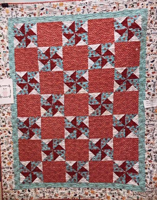 Pinwheel Quilt Sample