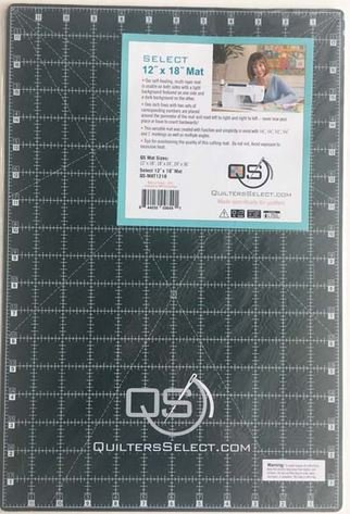 Quilters Select 12 x 18 Self Healing/Dual Side Cutting Mat - QS-MAT1218 - Quilters Select - Alex Anderson