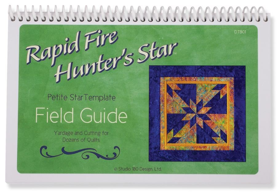 Rapid Fire Hunter's Star Field Guide - Petite Star Template - Book
