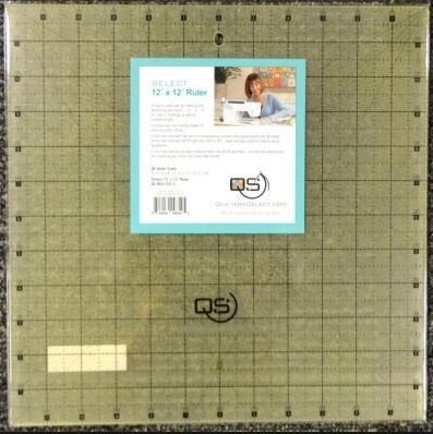 Select 12 x 12 Ruler -  QS-RUL12X12 - Quilters Select - Alex Anderson - 844050098545 - QS-RUL12X12