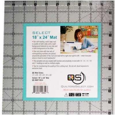 Quilters Select - 18 x 24 Self Healing/Dual Side Cutting Mat - GS-MAT1824 - Quilters Select - Alex Anderson