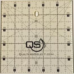 Select 5 X 5 Ruler -  QS-RUL5X5 - Quilters Select - Alex Anderson  - 844050099627 - QS-RUL5X5