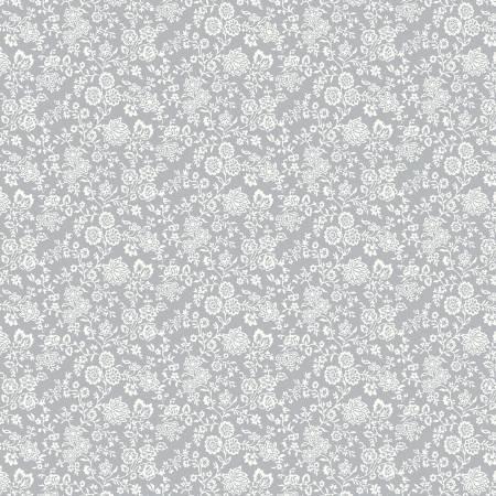 Summer House - Hampton Vines Gray - Liberty Fabrics - Riley Blake - 04775672Z - 889333146063