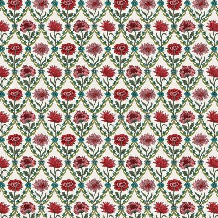 Summer House - Kew Trellis Cream - Liberty Fabrics - Riley Blake - 04775670Y - 889333145998