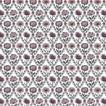 Summer House - Kew Trellis Rose - Liberty Fabrics - Riley Blake - 04775670Z - 889333146001
