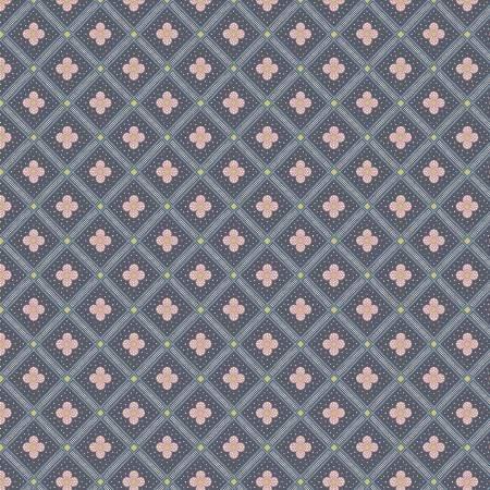 Summer House - Manor Tile Charcoal - Liberty Fabrics - Riley Blake - 04775671Z - 889333146032