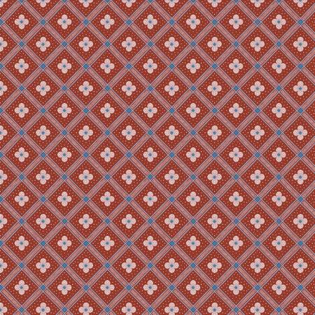 Summer House - Manor Tile Red - Liberty Fabrics - Riley Blake - 04775671Y - 889333146025