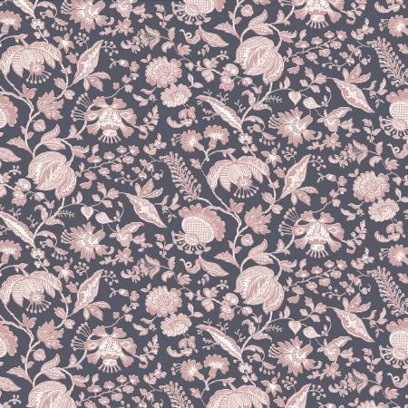 Summer House - Victoria Floral - Rose - Liberty Fabrics - Riley Blake - 04775669Z