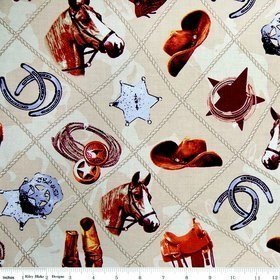 Sundown - Western - Main Tan - Penny Rose Fabrics - C4880