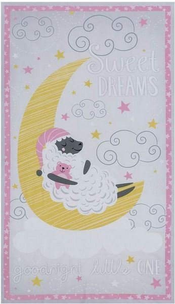 Sweet Dreams Panel Kit - Size 25 inches by WOF - Checkers - 1008720