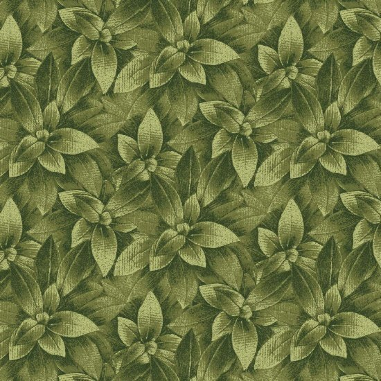 Walk by Faith - Green Leaves - Blank Quilting - 8892 66