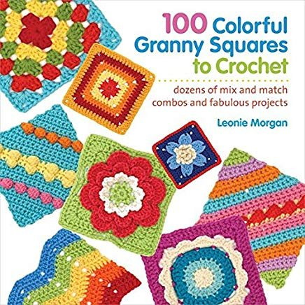 BK-100 Colorful Granny Squares to Crochet