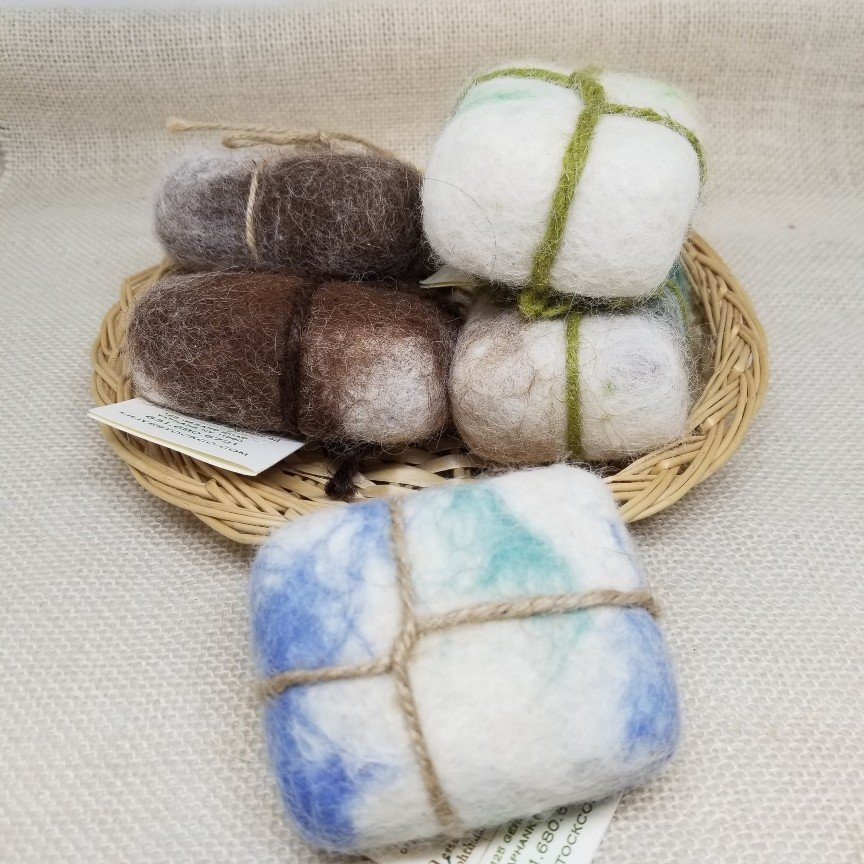 935-felted soap