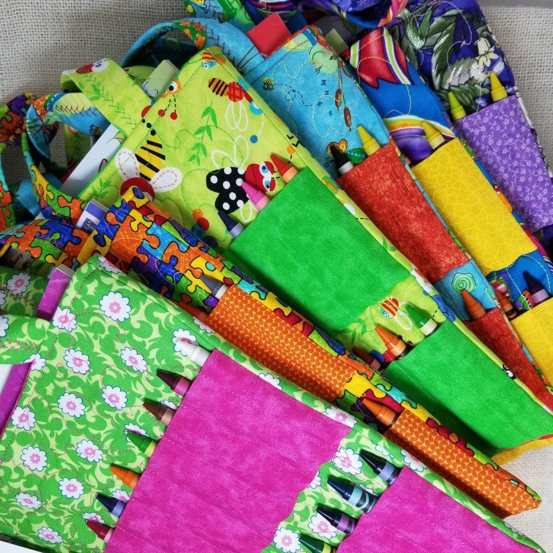 28-Crayon Activity Bag