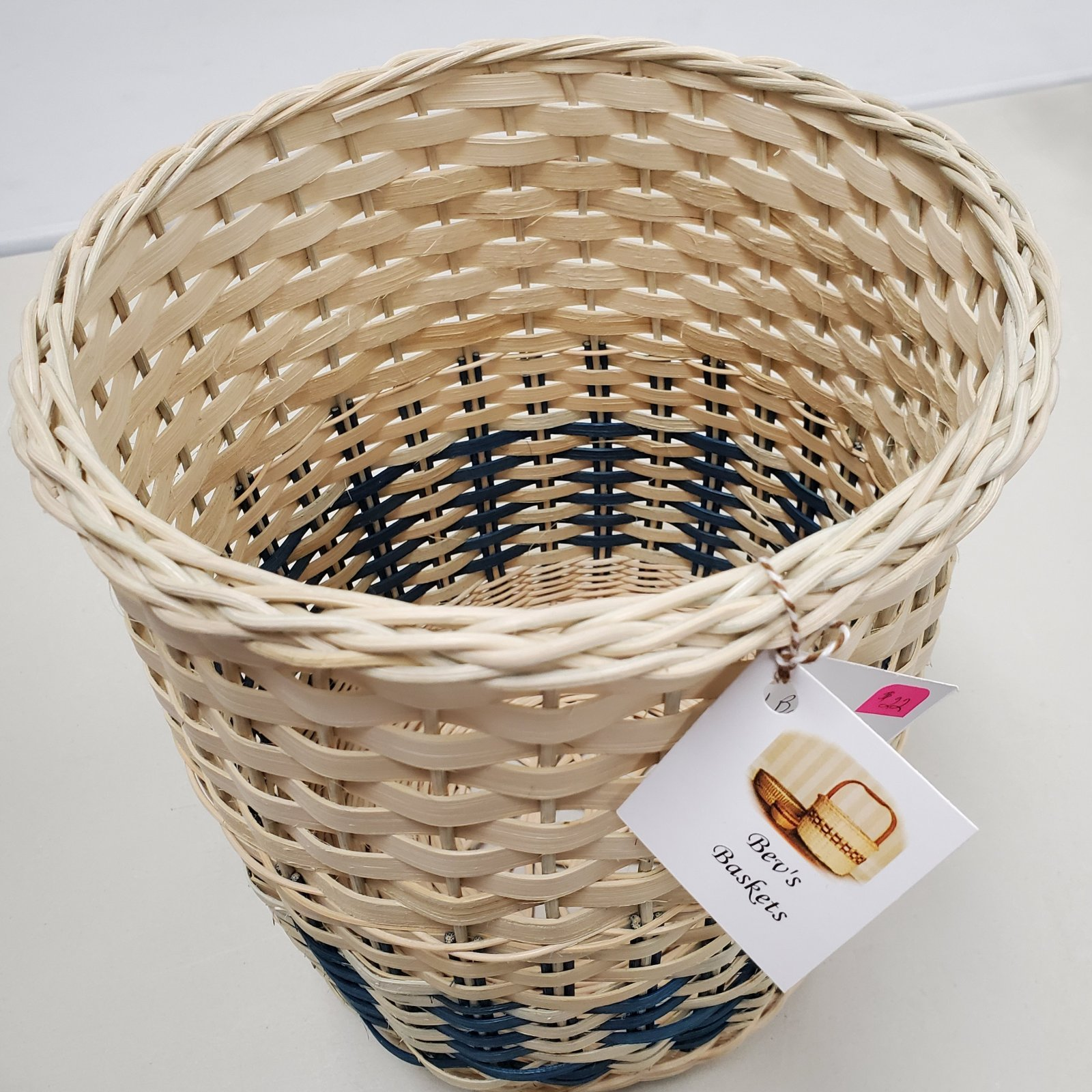 39-Round Tall Basket
