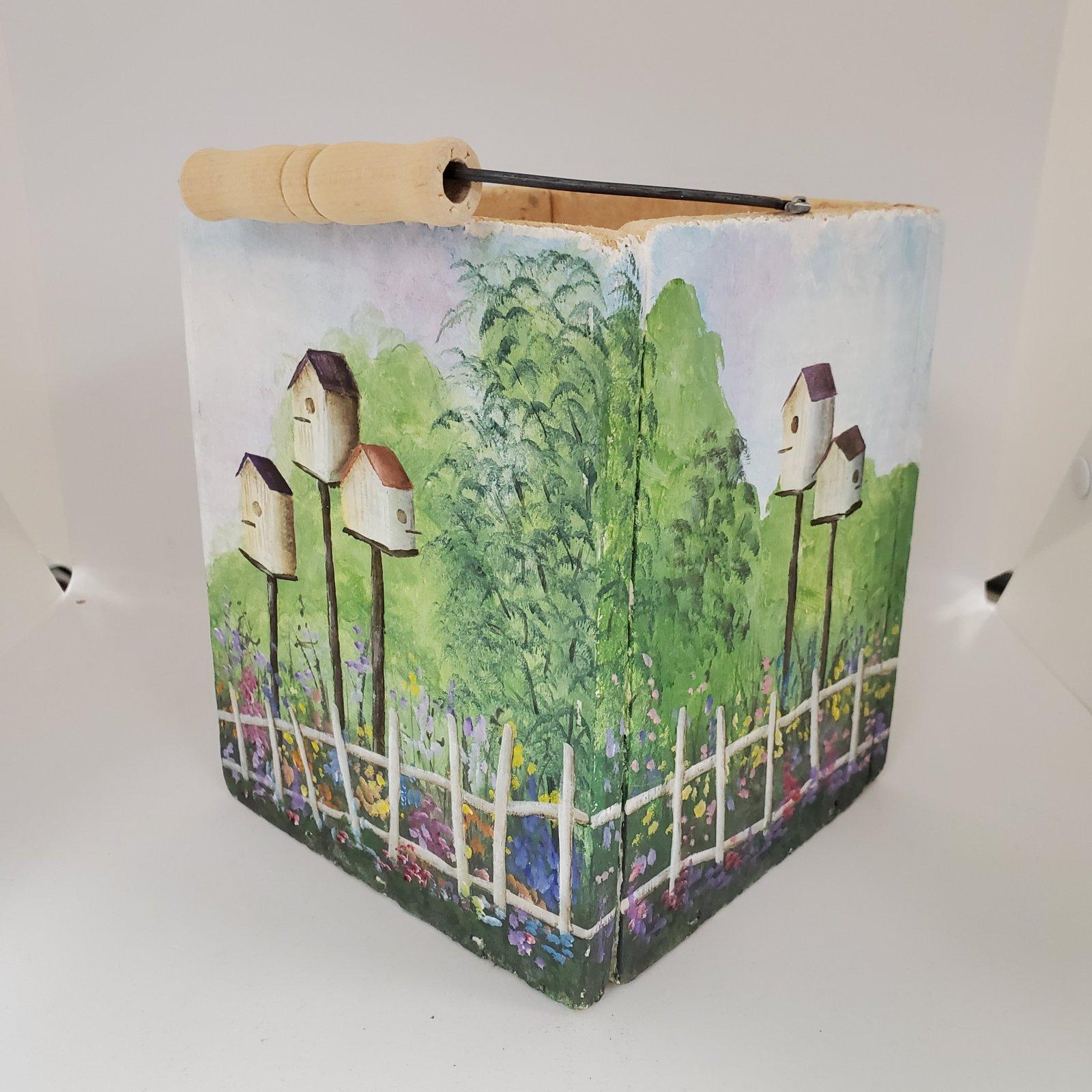 15 -planter box - birdhouses