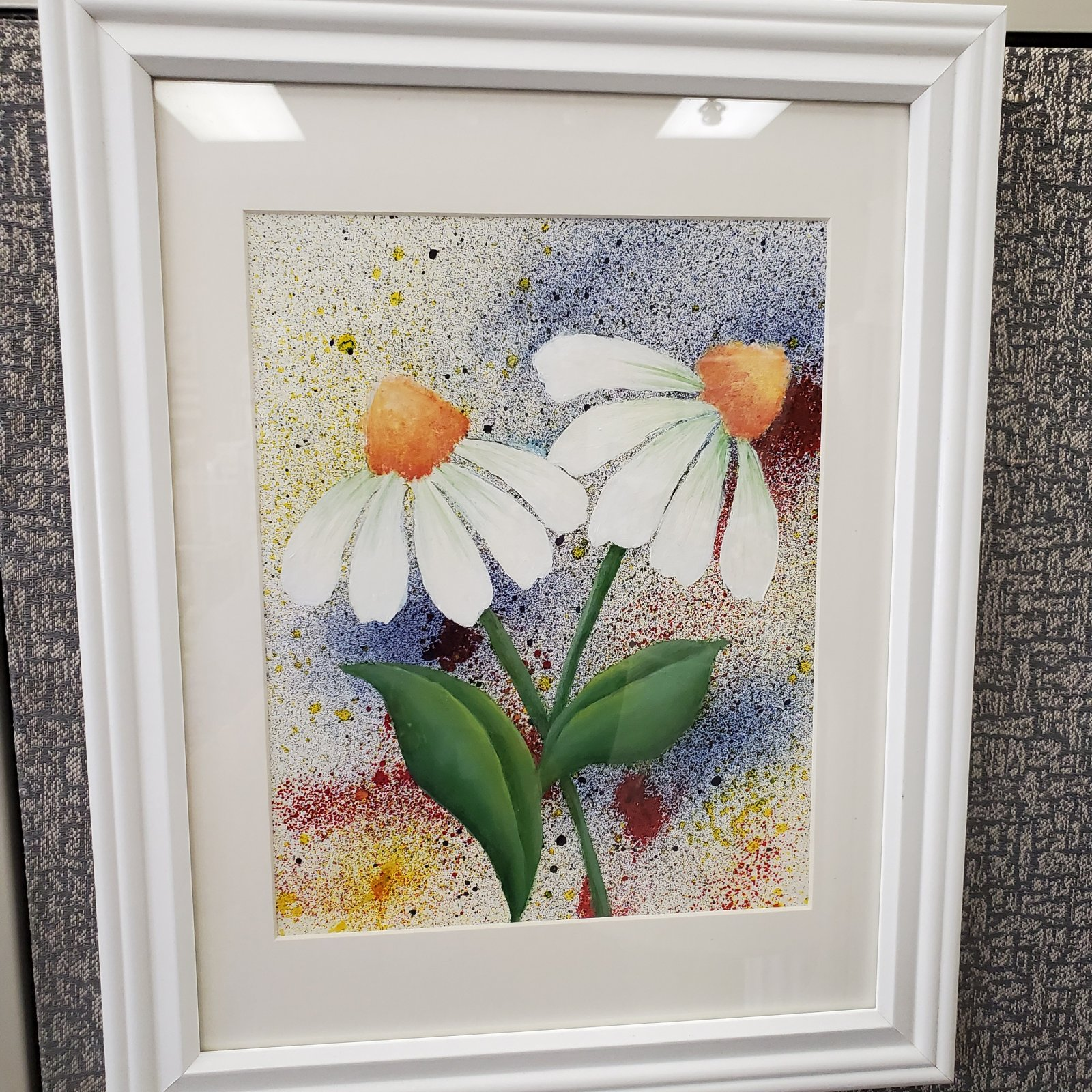 15 -framed cone flowers