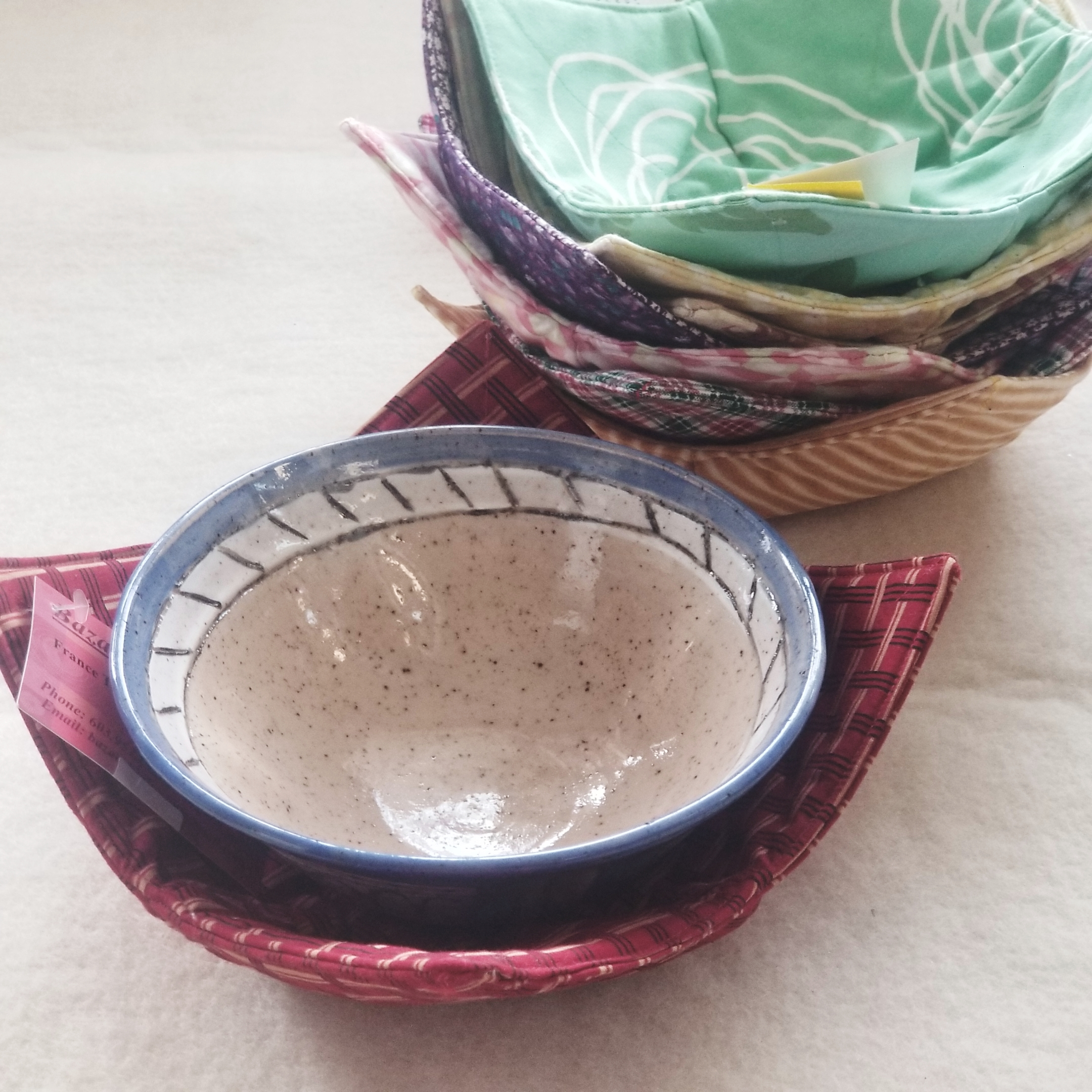 23-fabric micro bowls